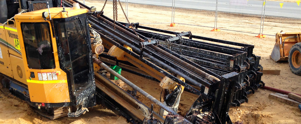 Horizontal Directional Drilling Project by DM Civil Contractors in Perth