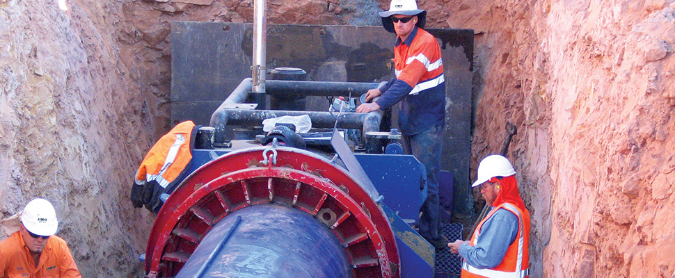Under Road Boring - Auger Boring by DM Civil Contractors in Perth